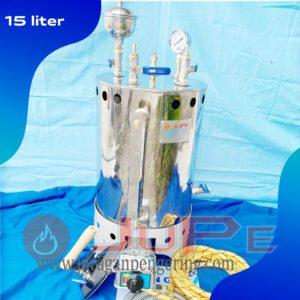 Setrika uap 15 liter