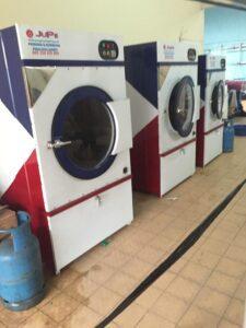 mesin pengering jupe