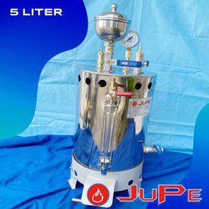 Setrika boiler uap LPG